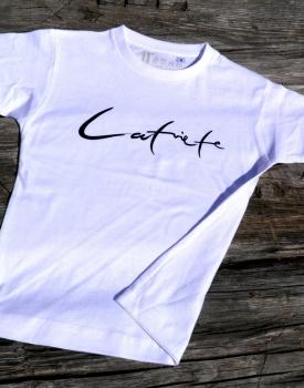 "T-krekls ""Latviete"" balts"